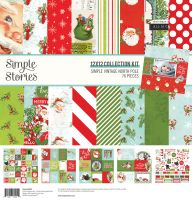 Simple Stories Simple Vintage North Pole - 12x12 Collection Kit