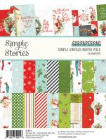 Simple Stories Simple Vintage North Pole - 6x8 Pad