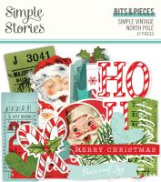 Simple Stories Simple Vintage North Pole - Bits & Pieces