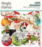 Simple Stories Simple Vintage North Pole - Santa Bits & Pieces