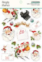 Simple Stories Simple Vintage North Pole - Sticker Book