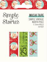 Simple Stories Simple Vintage North Pole - Washi Tape