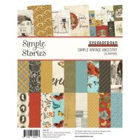 Simple Stories Simple Vintage Ancestry - 6x8 Pad