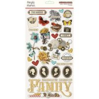 Simple Stories Simple Vintage Ancestry - 6x12 Chipboard