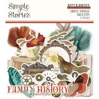 Simple Stories Simple Vintage Ancestry - Bits & Pieces