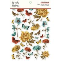 Simple Stories Simple Vintage Ancestry - Sticker Book