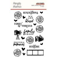 Simple Stories Simple Vintage Ancestry - Stamps