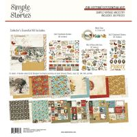 Simple Stories Simple Vintage Ancestry - 12x12 Collector''s Essential Kit