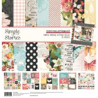 Simple Stories Simple Vintage Cottage Fields - 12x12 Collection Kit
