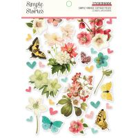 Simple Stories Simple Vintage Cottage Fields - Sticker Book