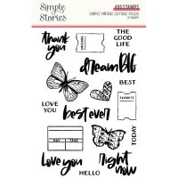 Simple Stories Simple Vintage Cottage Fields - Stamps