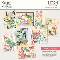 Simple Stories Simple Cards Card Kit - Hello Lovely
