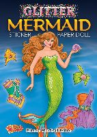 Dover Publications Glitter Mermaid Sticker Paper Doll