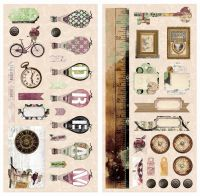 Bo Bunny Beautiful Dreamer Chipboard