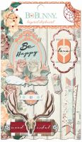 Bo Bunny Bella Rosa Layered Chipboard