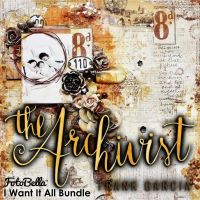 Prima Marketing The Archivist 12x12 I Want It All Bundle