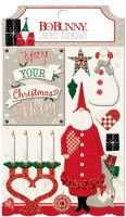 Bo Bunny Merry & Bright Layered Chipboard