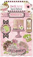 Bo Bunny Sweet Moments Layered Chipboard