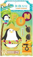 Bo Bunny Make A Splash Layered Chipboard
