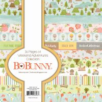 Bo Bunny Weekend Adventures 6x6 Paper Pad
