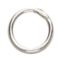 Cousin Sterling Elegance Genuine 925 Silver Beads & Findings-closed Jump Rings 6mm 16/pkg