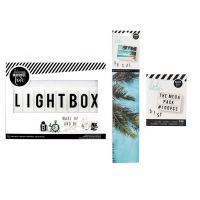 American Crafts Heidi Swapp Light Box Bundle (102 Piece)