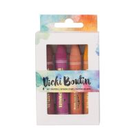 American Crafts Vicki Boutin Mixed Media - Art Crayons - Set 1 - (8 Piece)