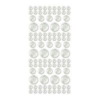 We R Memory Keepers Sequin Stickers - White