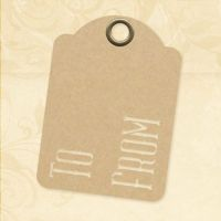 Graphic 45 To & From - ATC Kraft Tags