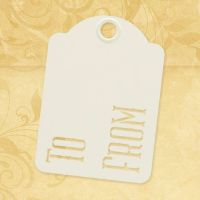 Graphic 45 To & From - ATC Ivory Tags