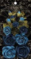Graphic 45 Rose Bouquet Collection-Bon Voyage & French Blue