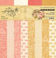 Graphic 45 Princess Patterns & Solids