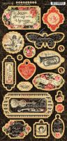 Graphic 45 Love Notes Chipboard