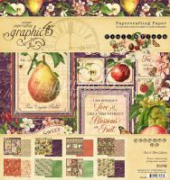 Graphic 45 Fruit & Flora 8x8 Pad