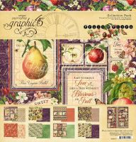 Graphic 45 Fruit & Flora 12x12 Collection Pack