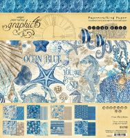 Graphic 45 Ocean Blue 8x8 Pad