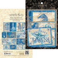 Graphic 45 Ocean Blue Ephemera & Journaling Cards