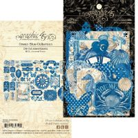 Graphic 45 Ocean Blue Die-cut Assortment