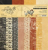 Graphic 45 Farmhouse 12x12 Patterns & Solid Pad