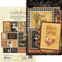 Graphic 45 Farmhouse Ephemera & Journaling Cards