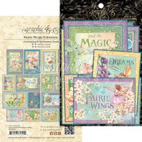 Graphic 45 Fairie Wings Ephemera & Journaling Cards