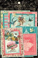 Graphic 45 Ephemera Queen Ephemera & Journaling Cards