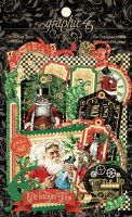 Graphic 45 Christmas Time Die-cut Assortment