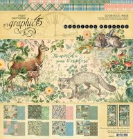 Graphic 45 Woodland Friends 12x12 Collection Pack