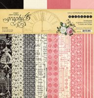 Graphic 45 Elegance 12x12 Patterns & Solids Pad