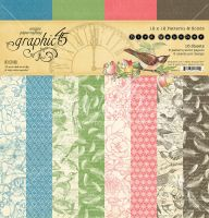 Graphic 45 Bird Watcher 12x12 Patterns & Solids