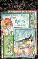 Graphic 45 Bird Watcher Journaling Cards