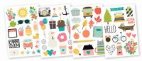 Simple Stories Carpe Diem Illustrated Life Stickers