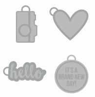 Simple Stories Carpe Diem Metal Charms