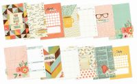 Simple Stories The Reset Girl Monthly Inserts